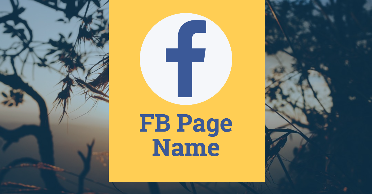 How To Change Your Facebook Page Name Fast Change Fb Page Name Fb Page Names Sport Team Logos