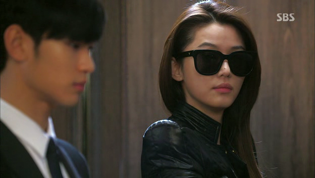06cee7bc7c392 Cheon Song Yi - man from the stars - gentle monster sunglasses ...