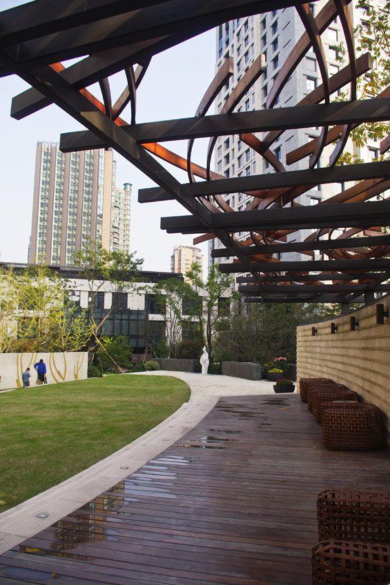 Wulin Palace Apartments   Landscape architecture design ...