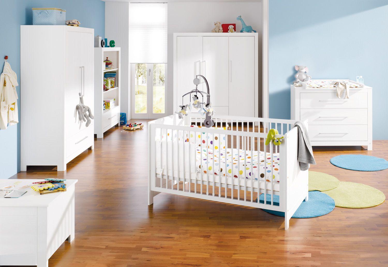 Kinderzimmer Puro breit aus massiver Fichte von Pinolino | Nursery ...
