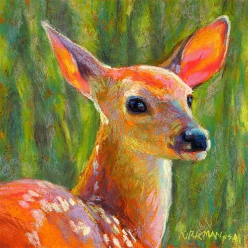 """Daily Paintworks - """"Melody"""" by Rita Kirkman"""