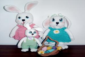 Conejo Amigurumi Patron Gratis : Patron gratis conejo amigurumi amigurumi gatos conejos y osos