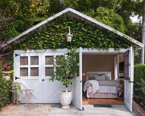 Converted Garage Guesthouse Ideas Pictures Remodel And Decor Guest House Shed Bedroom