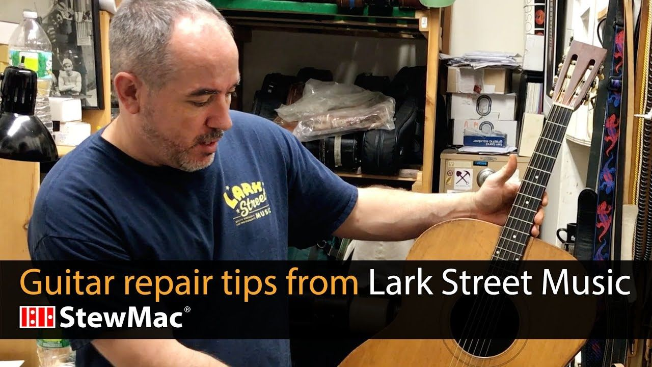 Guitar Repair Tips From Lark Street Music Music Tips Guitar