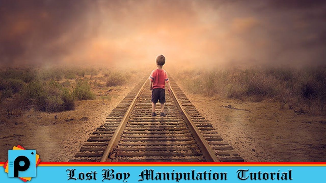 Picsart editing tutorial alone lost boy photo manipulation best editin