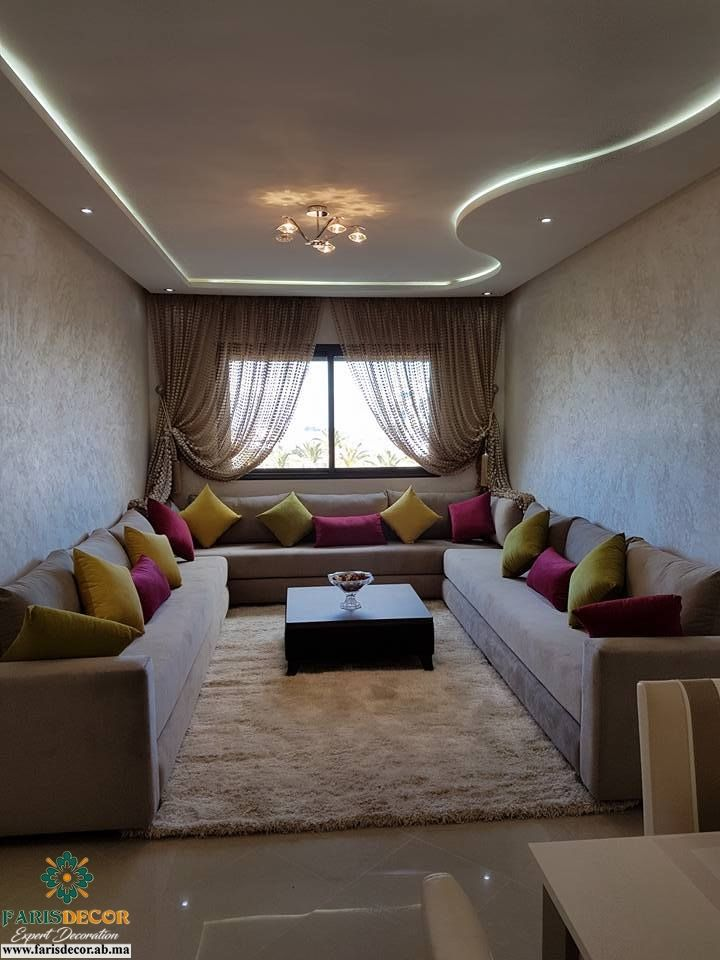 salon marocain 2018 decoration interior exterior flooring ceiling wall am nagement. Black Bedroom Furniture Sets. Home Design Ideas