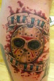 Friday The 13Th Tattoo