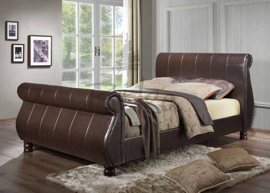 Mille Faux Leather Bed Frame