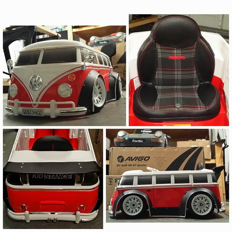 Cool VW Pedal Car From Kidstance (With Images)
