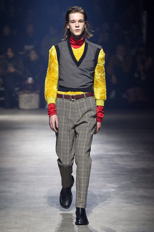 844f22962a30 Kenzo Fall 2018 Menswear Fashion Show Collection