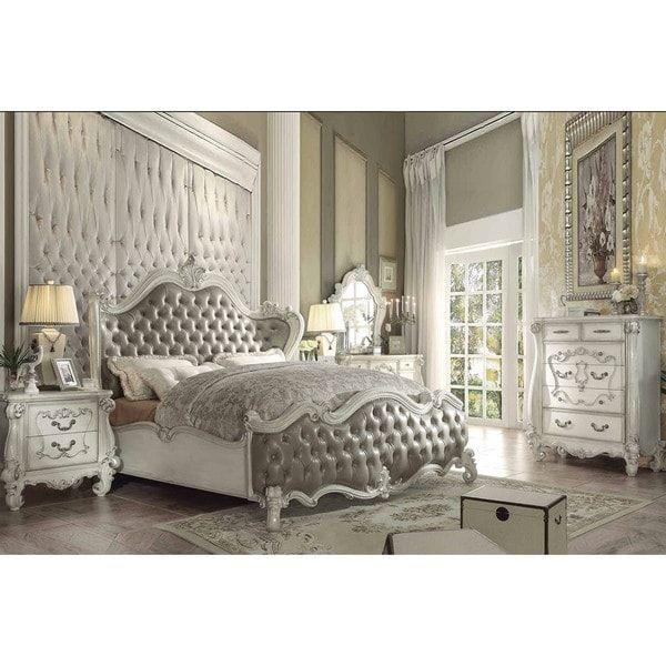 Superstar Sleigh White Wood Bed Home~Bedroom Pinterest Wood