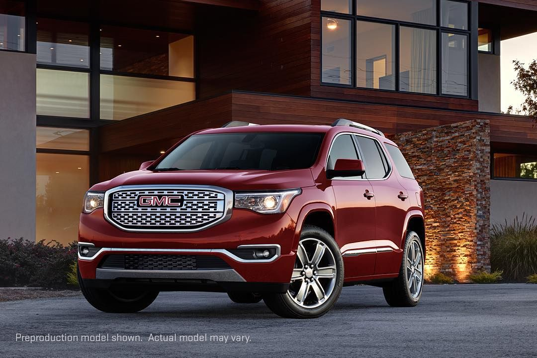 Introducing The All New 2017 Gmcacadia A Premium Suv That Is All
