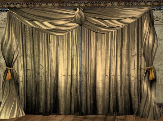 theatre drapes and curtain room