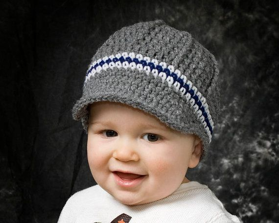 Crochet Baby Boy Hat | fashion hats crocheted | Pinterest ...