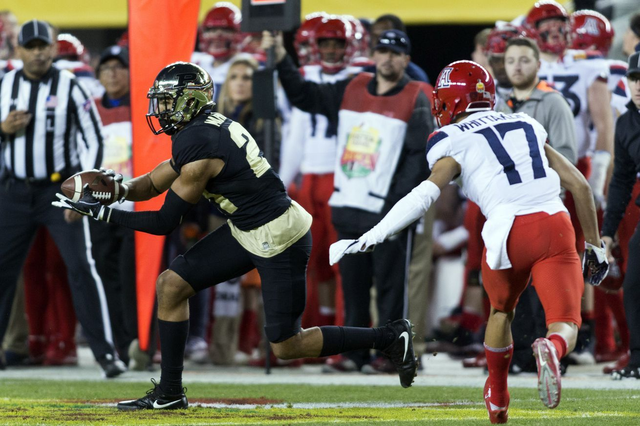 Khalil Tate is the one to watch when Purdue and Arizona