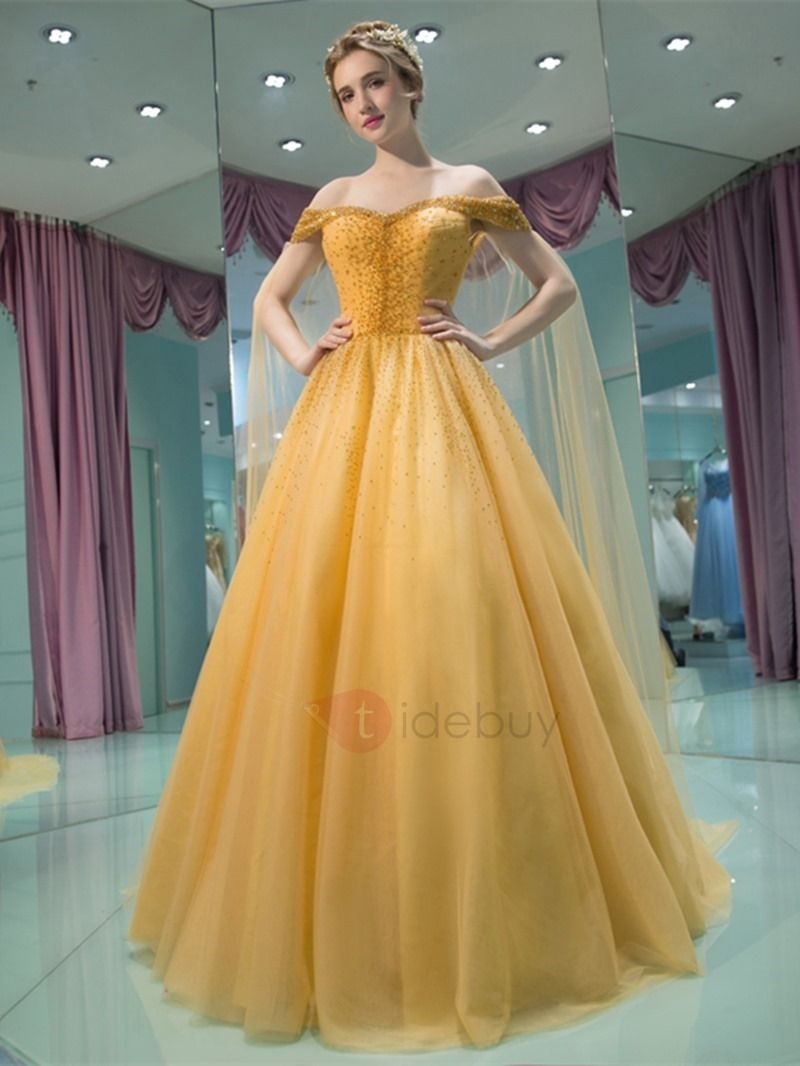 Charming aline offtheshoulder beading pleats court train prom