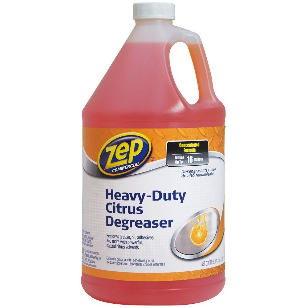 Zep 1 Gal Citrus Cleaner Case Of 4 Zucit128 The Home Depot Citrus Degreaser Citrus Cleaner Degreasers