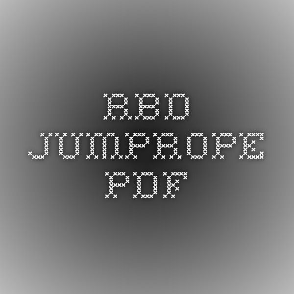 RBD_JumpRope.pdf tumblers but with little tumblers also.