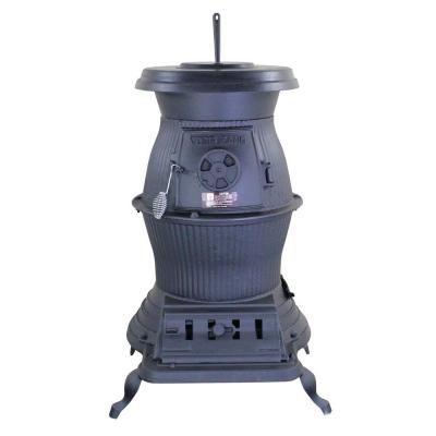 Coal / Wood-Burning Pot Belly Stove- - Cast Iron 200,000 BTU Pot Belly Stove At Ace Hardware Cast Iron