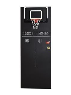 Chalkboard Paint The Back Of A Kidu0027s Door, Hang A Basketball Hoop And Let  Them Have Fun!