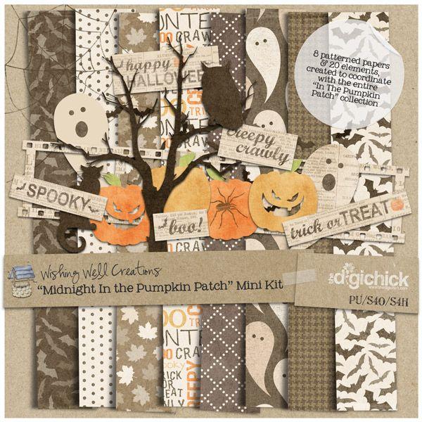 Midnight In the Pumpkin Patch Mini Kit