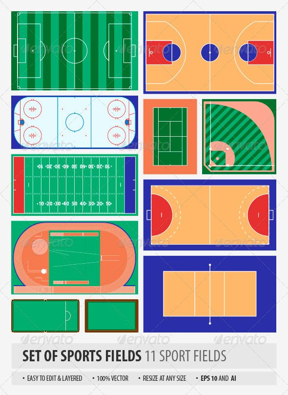 Sport Fields Pinterest Fields, Layering and Filing