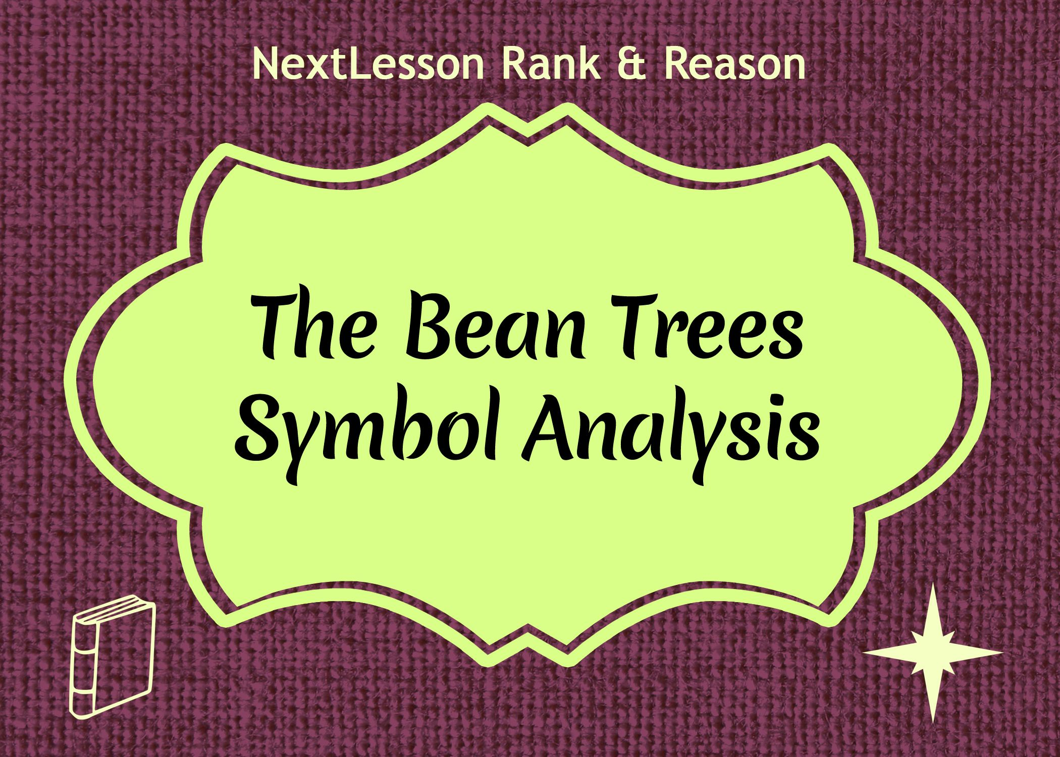 literary analysis essay the bean trees - the bean trees in the novel the bean trees by barbara kingsolver, many social issues are discussed one social issue that is addressed is adoption adopting a child is an experience that promises to bring great joy as it changes a couple or individual's life forever.