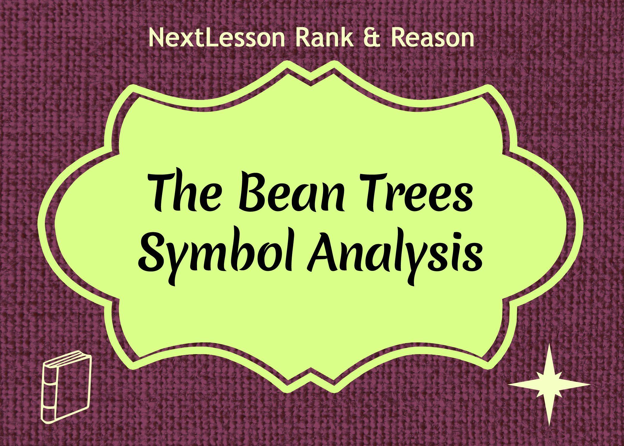 The Bean Trees Symbolysis