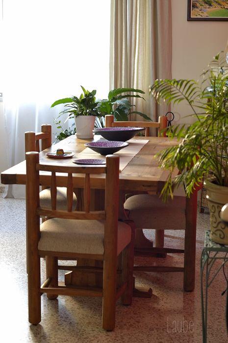 Comedor estilo rústico mexicano. Madera maciza. | imagen | Comedores ...