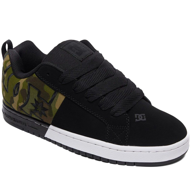 DC Court Graffik SQ Shoes Black Camo