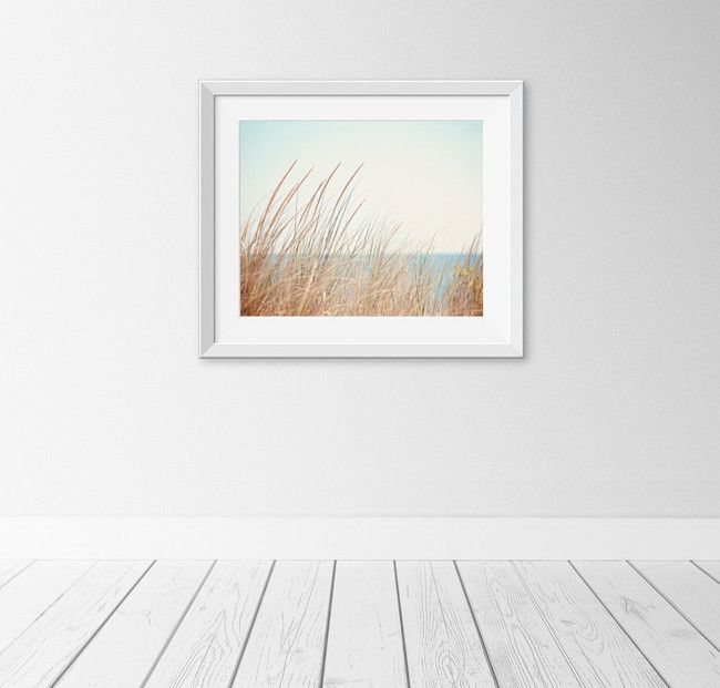 """Shore Breeze"" Beach Grass Art Print by Carolyn Cochrane Photography 