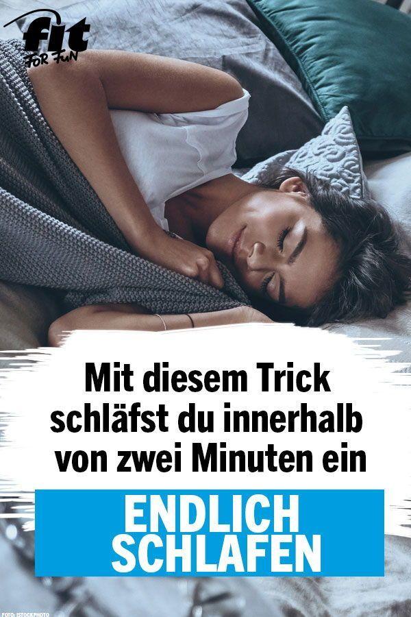 Dieser Trick Lasst Dich Nach Zwei Minuten Einschlafen