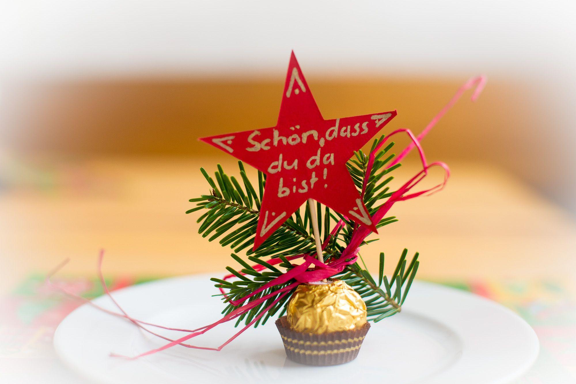 DIY Tischdeko Advent Weihnachten Frhstck Homemade