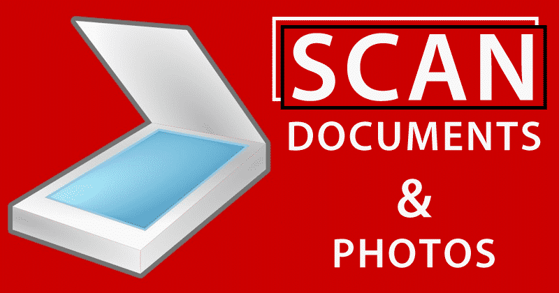 How To Scan Documents & Photos On Computer And Smartphone