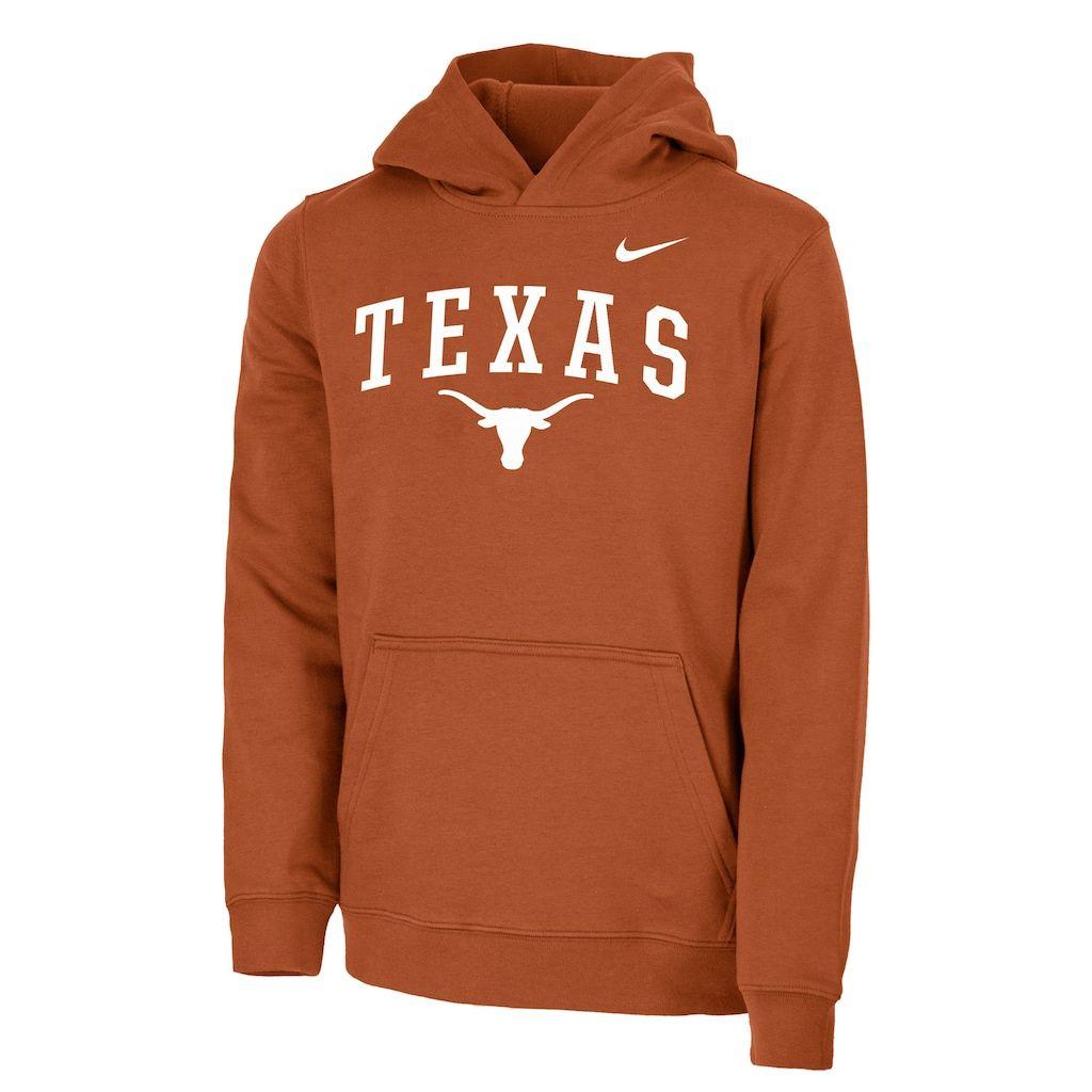 Boys 8 20 Nike Texas Longhorns Logo Hoodie Hoodies Texas Longhorns Logo Texas Longhorns [ 1024 x 1024 Pixel ]