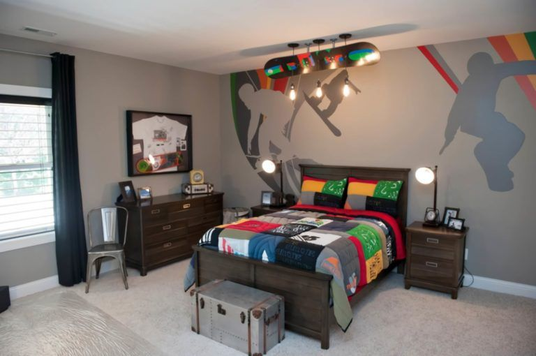12 Boys Bedroom Ideas That Make It Cooler Enthusiasthome Cool Bedrooms For Boys Kids Bedroom Designs Bedroom Wall Designs