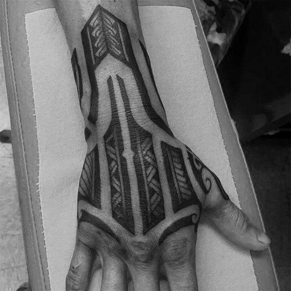 40 Polynesian Forearm Tattoo Designs For Men Masculine Tribal Polynesian Tribal Tattoos Tribal Tattoos Maori Tattoo