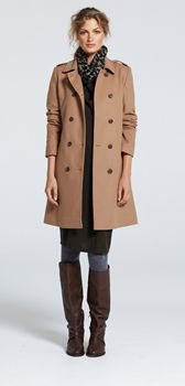 Winter Fashion with Trench Coats in Camel from Sportscraft | Style ...