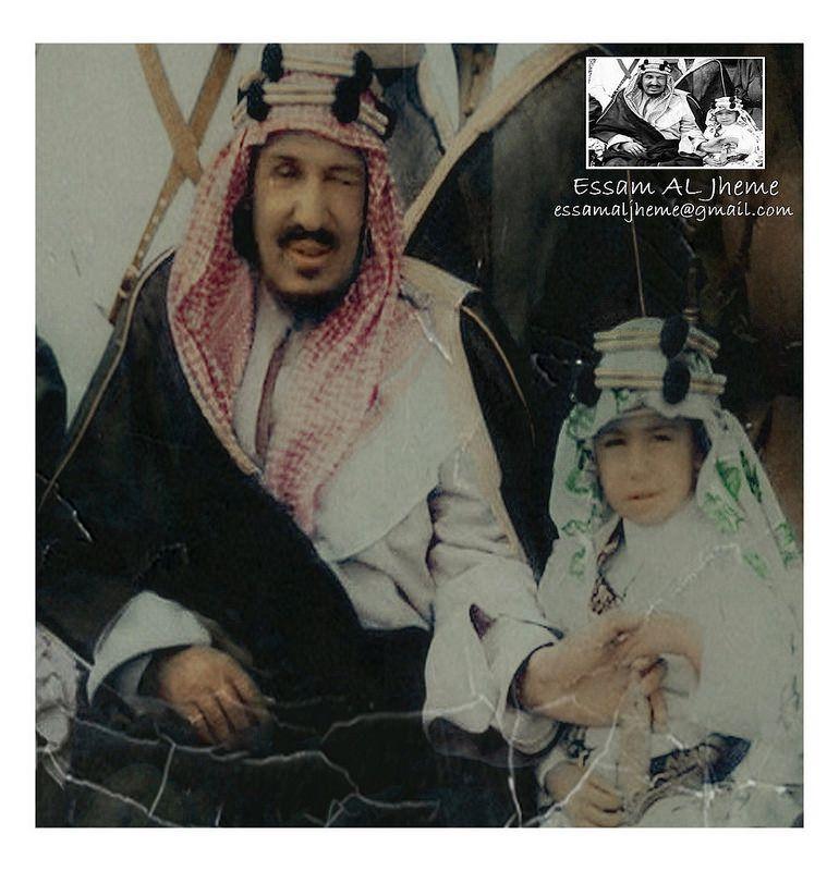 الملك عبدالعزيز آل سعود والامير نواف بن عبدالعزيز آل سعود King Faisal Old Pictures My Images