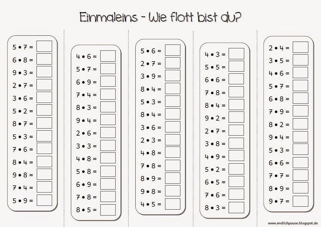 Einmaleins … | Szorzótábla | Pinte…