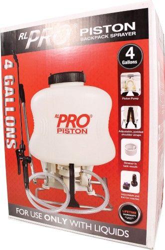 Rl Flo Master 4 Gallon Piston Backpack Sprayer Backpacks Ebay Walmart