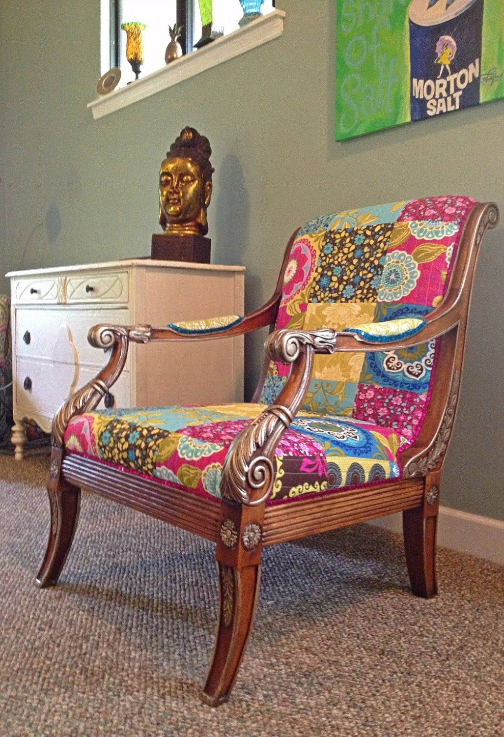 Sessel Makeover Bohemian Chic Furniture | One Of A Kind Chair Bohemian