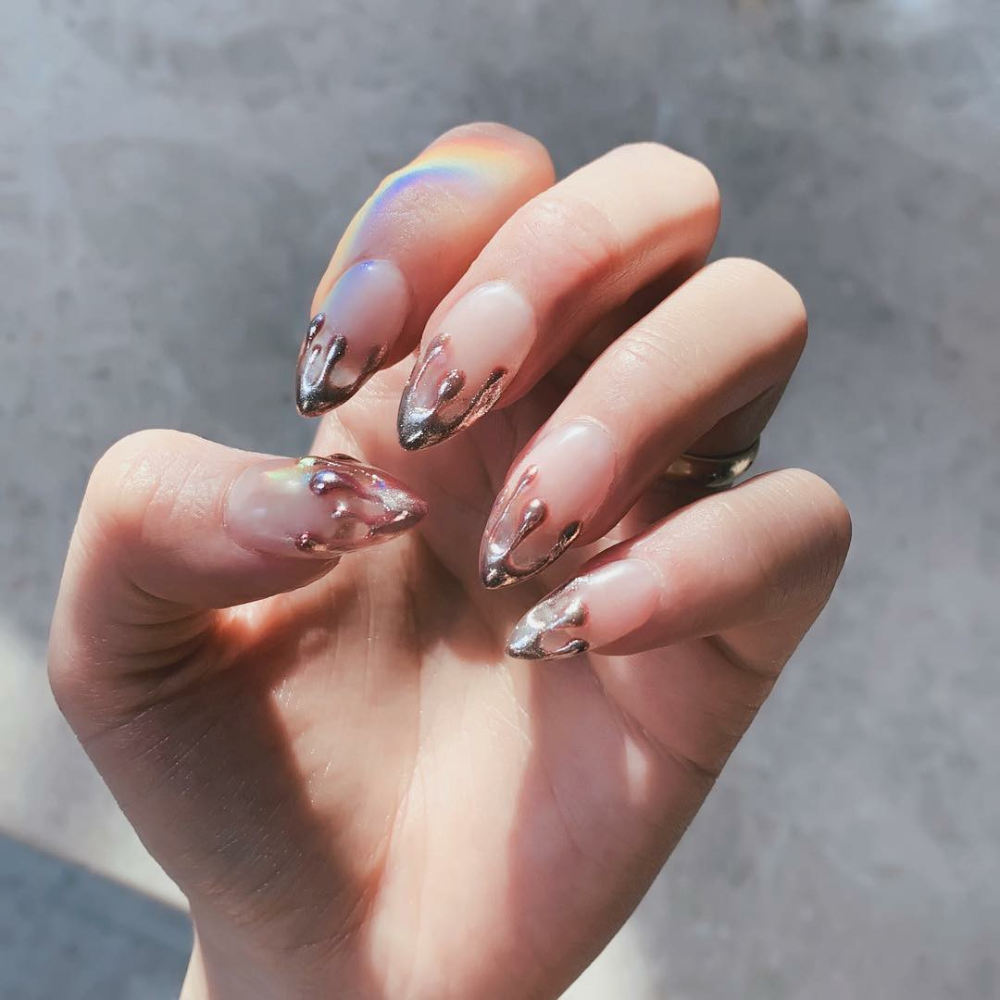 Pin by Креатив on маникюр in 2020 | Take off acrylic nails ...