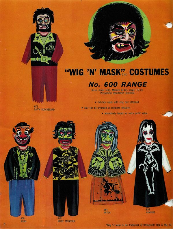 1967 Collegeville Catalog Halloween Vintage Pinterest Catalog - halloween catalog