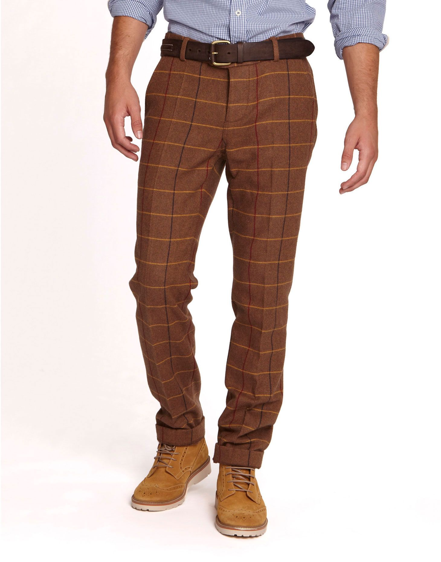 these brown tweed men's pants from eaton are pretty stylish! found ...