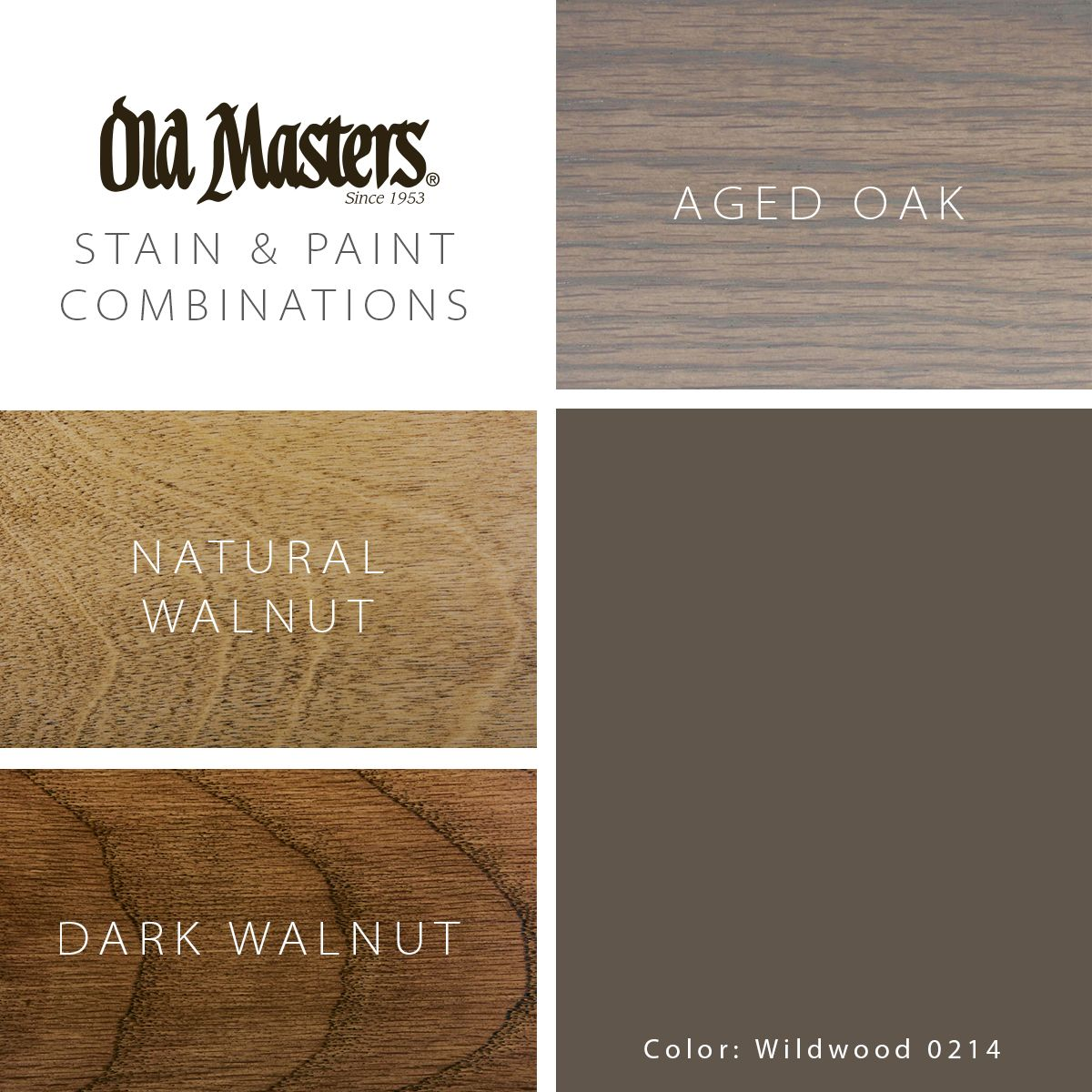 Pairing Stain With Today S Popular Interior Colors Paint Combinations Staining Wood Natural Walnut