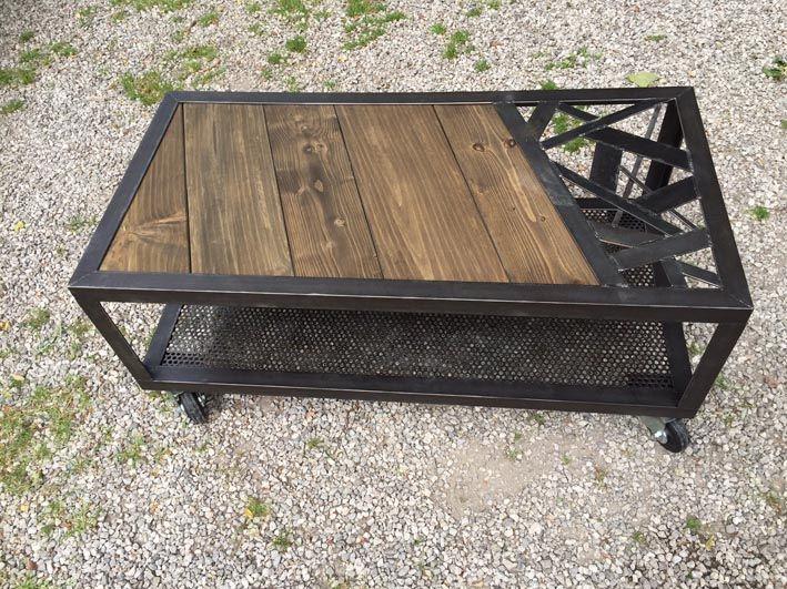 Tables Basses Mobilier Industriel L Or Du Temps New Products