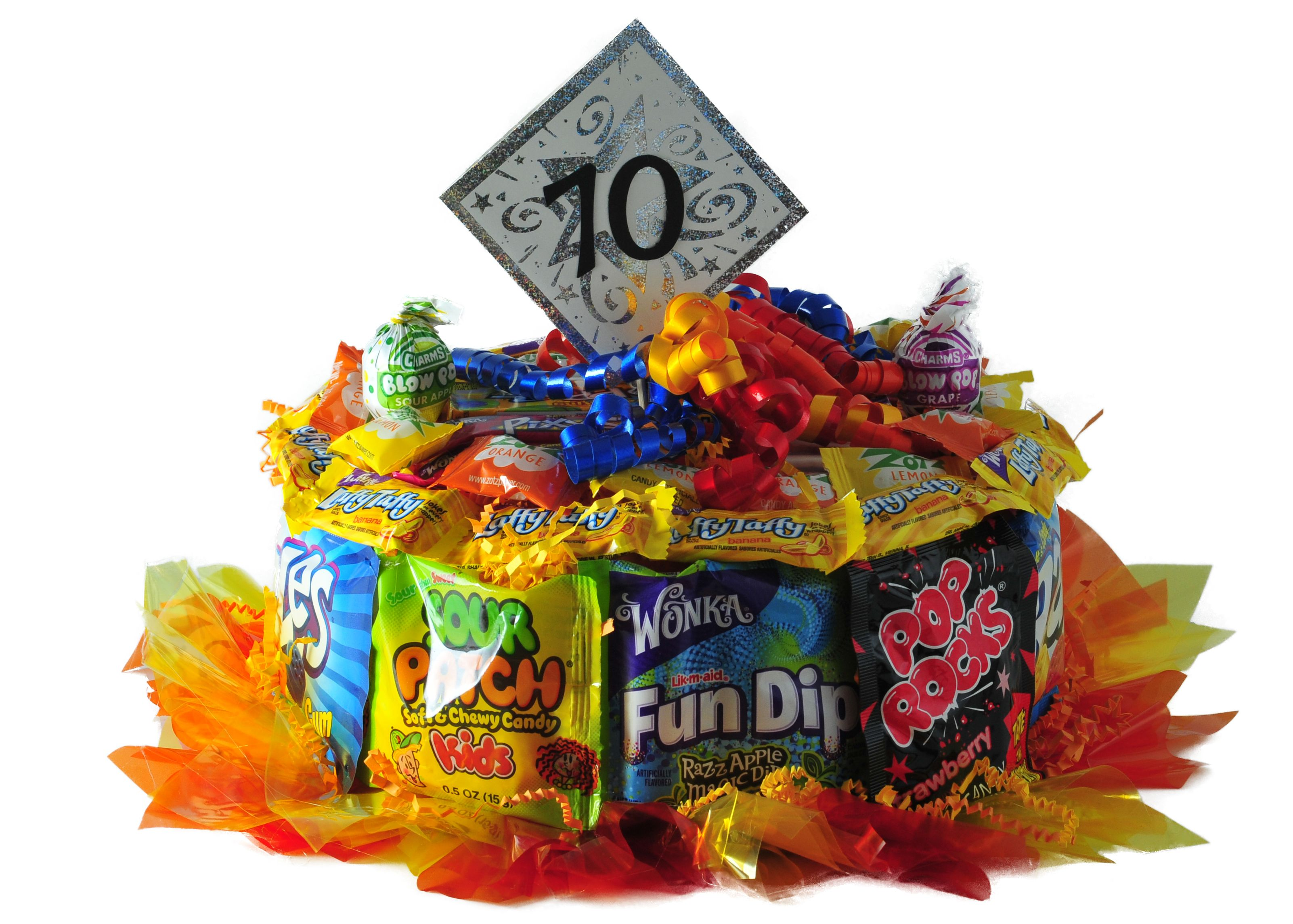 1970 candy cake best candy fun dip candy bouquet