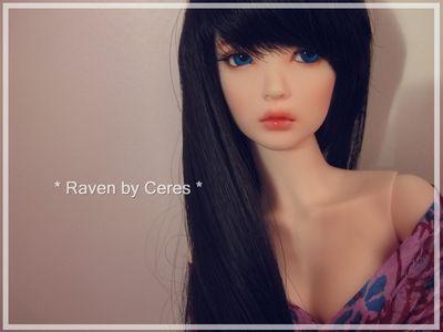 Raven (Supia Rosy) by Ceres ♥, via Flickr