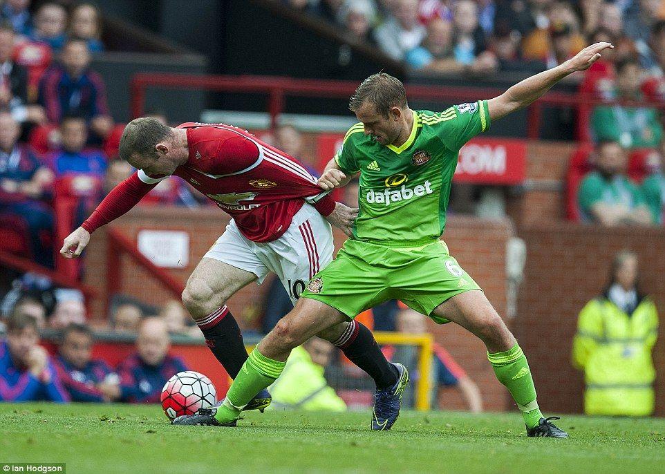 Manchester United 3 0 Sunderland Depay Rooney And Mata Score In Win Sunderland Manchester United Manchester